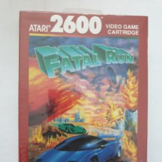Videojuegos y Consolas: FATAL RUN. ATARI 2600. Lote 163580484