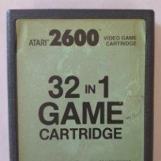 Videojuegos y Consolas: CARTUCHO 32 EN 1. ATARI 2600. Lote 164787580
