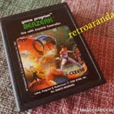 Videojuegos y Consolas: JUEGO ATARI 2600 *BERZERK*. Lote 165901770