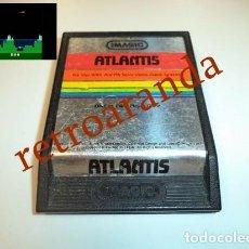 Videojuegos y Consolas: JUEGO ATARI 2600 *ATLANTIS*. Lote 165956662