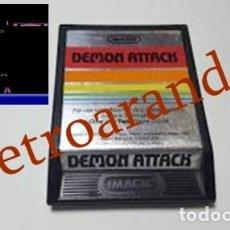 Videojuegos y Consolas: JUEGO ATARI 2600 *DEMON ATTACK*. Lote 165958902