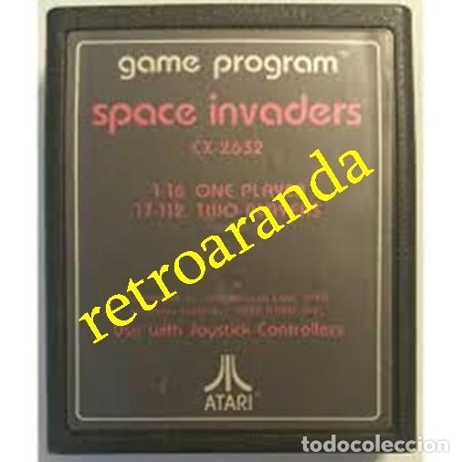 JUEGO ATARI 2600 *SPACE INVADERS* (Juguetes - Videojuegos y Consolas - Atari)