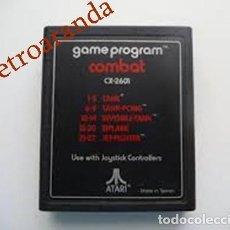 Videojuegos y Consolas: JUEGO ATARI 2600 *COMBAT*. Lote 165965594