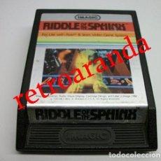 Videojuegos y Consolas: JUEGO ATARI 2600 *RIDDLE OF THE SPHINX*. Lote 165973878