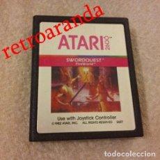 Videojuegos y Consolas: JUEGO ATARI 2600 *SWORDQUEST FIREWORLD*. Lote 166055310