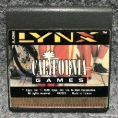 Videojuegos y Consolas: CALIFORNIA GAMES ATARI LYNX. Lote 166472121