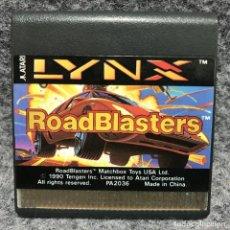 Videojuegos y Consolas: ROADBLASTERS ATARI LYNX. Lote 166472125