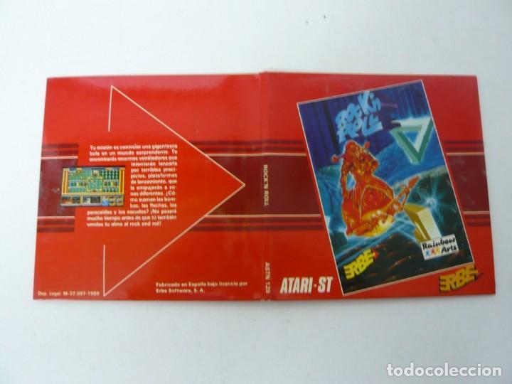 Videojuegos y Consolas: Rock'n Roll - ATARI ST / Retro Vintage / Clásico - Foto 3 - 167037232