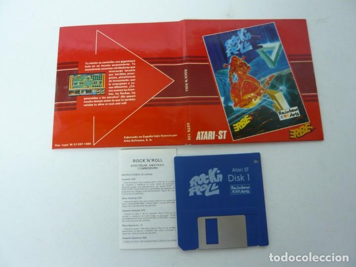 Videojuegos y Consolas: Rock'n Roll - ATARI ST / Retro Vintage / Clásico - Foto 5 - 167037232