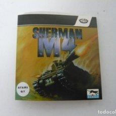 Videojuegos y Consolas: SHERMAN M4 - ATARI ST / RETRO VINTAGE / CLÁSICO. Lote 167037280