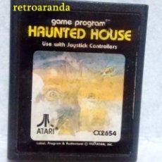 Videojuegos y Consolas: JUEGO ATARI 2600 *HAUNTED HOUSE*. Lote 167187372