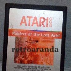Jeux Vidéo et Consoles: JUEGO ATARI 2600 *RAIDERS OF THE LOST ARK*. Lote 168052832