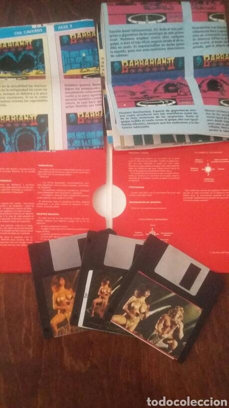 Videojuegos y Consolas: Barbarian II 2 atari st - Foto 3 - 169736478