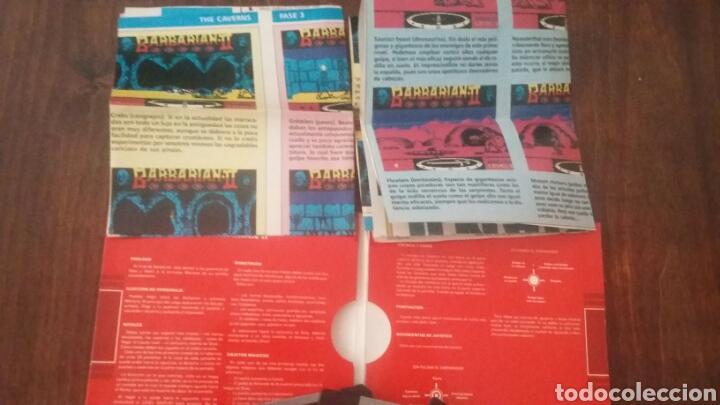Videojuegos y Consolas: Barbarian II 2 atari st - Foto 4 - 169736478