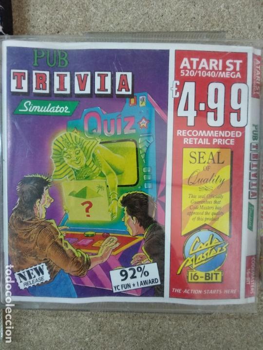 PUB TRIVIA ATARI ST (Juguetes - Videojuegos y Consolas - Atari)