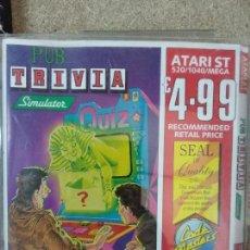Videojuegos y Consolas: PUB TRIVIA ATARI ST. Lote 170959270