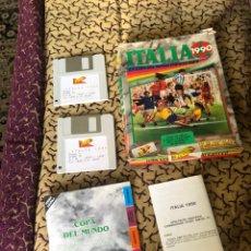 Videojuegos y Consolas: JUEGO DISQUETES ITALIA 1990 U.S GOLD - ATARÍ ST -COMPLETO- VER LAS FOTOS. Lote 172764042