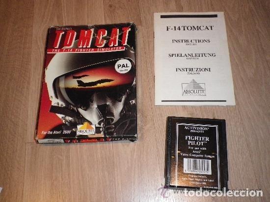 ATARI 2600 JUEGO TOMCAT COMPLETO (Juguetes - Videojuegos y Consolas - Atari)