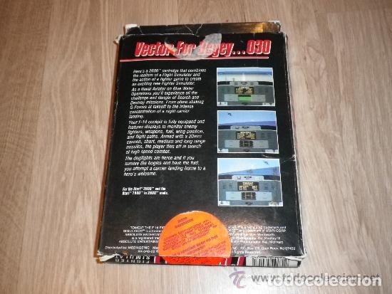 Videojuegos y Consolas: ATARI 2600 JUEGO TOMCAT COMPLETO - Foto 2 - 173406135