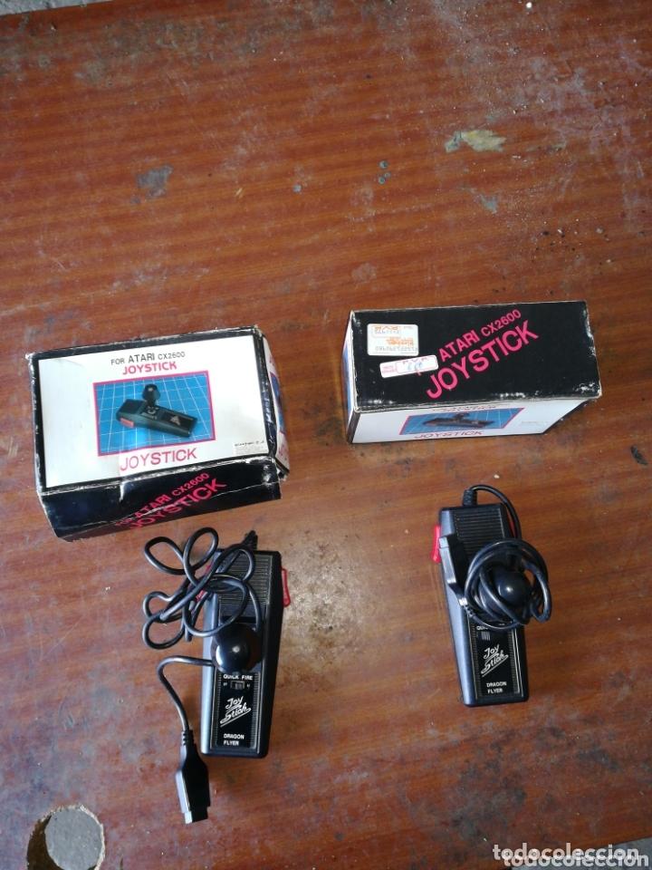 2 JOYSTICK FOR ATARI CX2600 (Juguetes - Videojuegos y Consolas - Atari)