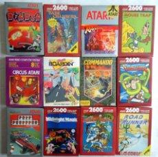 Videojuegos y Consolas: 12 JUEGOS ATARI 2600 DIFERENTES NUEVOS SELLADOS DE FABRICA ENVIO INCLUIDO. Lote 174106453