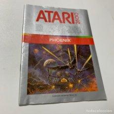 Videojogos e Consolas: MANUAL DE INSTRUCCIONES DEL JUEGO PHOENIX PARA LA CONSOLA ATARI 2600. Lote 176595122