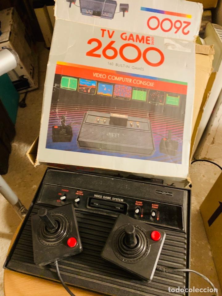 CLON DE VIDEOCONSOLA ATARÍ 2600. (Juguetes - Videojuegos y Consolas - Atari)