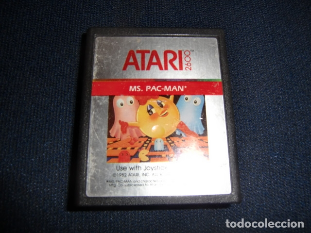 MS PAC-MAN PACMAN - ATARI 2600 Y COMPTAIBLES - JUEGO EN CARTUCHO ORIGINAL (Juguetes - Videojuegos y Consolas - Atari)