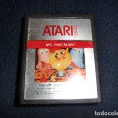 Videojuegos y Consolas: MS PAC-MAN PACMAN - ATARI 2600 Y COMPTAIBLES - JUEGO EN CARTUCHO ORIGINAL. Lote 177266768