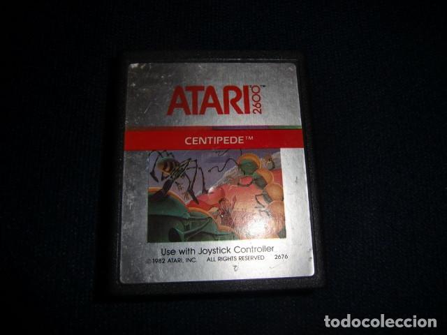 CENTIPEDE - ATARI 2600 Y COMPATIBLES - JUEGO EN CARTUCHO ORIGINAL (Juguetes - Videojuegos y Consolas - Atari)