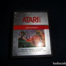 Videojuegos y Consolas: CENTIPEDE - ATARI 2600 Y COMPATIBLES - JUEGO EN CARTUCHO ORIGINAL. Lote 177266887