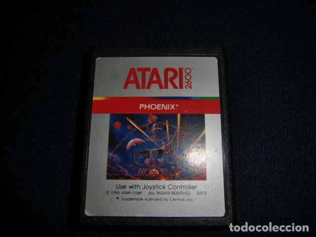 PHOENIX - ATARI 2600 Y COMPATIBLES - JUEGO EN CARTUCHO ORIGINAL (Juguetes - Videojuegos y Consolas - Atari)