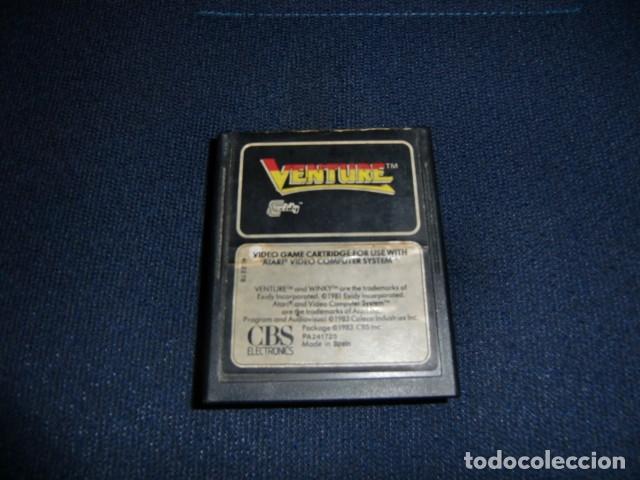 VENTURE - ATARI 2600 Y COMPATIBLES - JUEGO EN CARTUCHO ORIGINAL (Juguetes - Videojuegos y Consolas - Atari)