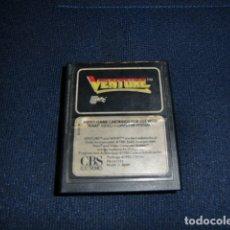 Videojuegos y Consolas: VENTURE - ATARI 2600 Y COMPATIBLES - JUEGO EN CARTUCHO ORIGINAL. Lote 177267087