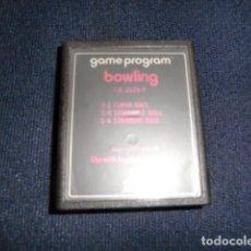 Videojuegos y Consolas: BOWLING- ATARI 2600 Y COMPATIBLES - JUEGO EN CARTUCHO ORIGINAL. Lote 177267169