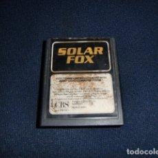 Jeux Vidéo et Consoles: SOLAR FOX- ATARI 2600 Y COMPATIBLES - JUEGO EN CARTUCHO ORIGINAL. Lote 177267249