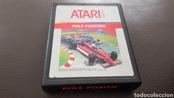ANTIGUO CARTUCHO ATARI POLE POSITION JUEGO (Juguetes - Videojuegos y Consolas - Atari)