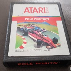 Videojuegos y Consolas: ANTIGUO CARTUCHO ATARI POLE POSITION JUEGO. Lote 180242918