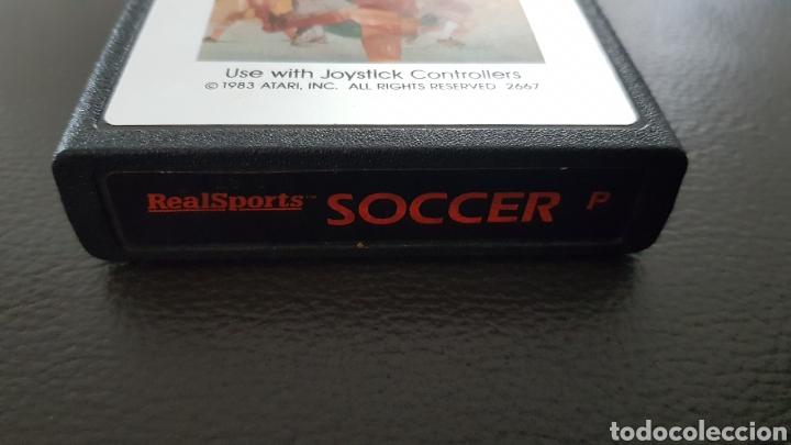 Videojuegos y Consolas: CARTUCHO ATARI 2600 SOCCER JUEGO - Foto 2 - 180243180