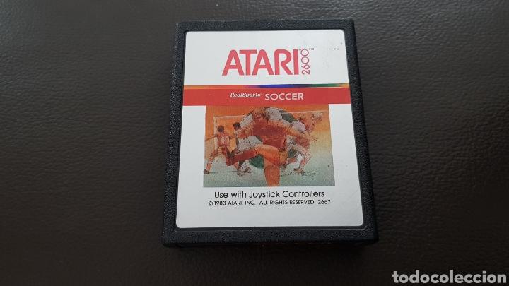 CARTUCHO ATARI 2600 SOCCER JUEGO (Juguetes - Videojuegos y Consolas - Atari)