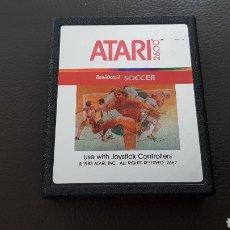 Videojuegos y Consolas: CARTUCHO ATARI 2600 SOCCER JUEGO. Lote 180243180
