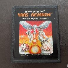 Videojuegos y Consolas: CARTUCHO ATARI 2600 YAR'S REVENGE JUEGO. Lote 180243242