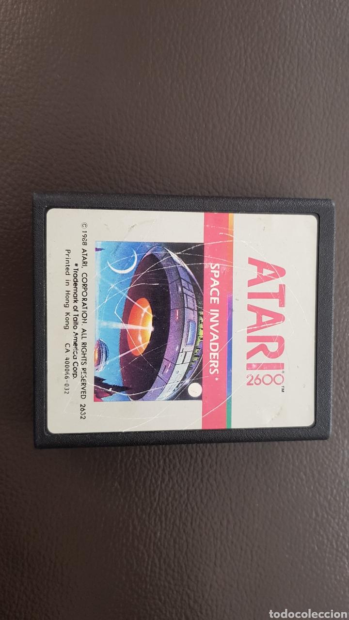 Videojuegos y Consolas: CARTUCHO ATARI 2600 SPACE INVADERS JUEGO - Foto 3 - 180243312