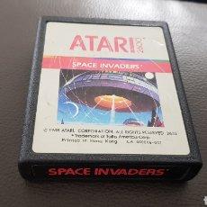 Videojuegos y Consolas: CARTUCHO ATARI 2600 SPACE INVADERS JUEGO. Lote 180243312
