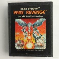 Videojuegos y Consolas: YARS REVENGE-CARTUCHO-ATARI . Lote 181203650