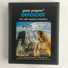 Videojuegos y Consolas: DEFENDER-CARTUCHO-ATARI-1981. Lote 181203928