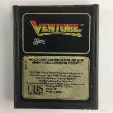 Videojuegos y Consolas: VENTURE-CARTUCHO-ATARI-1983. Lote 181204450