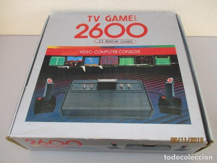 CONSOLA TV GAME 2600 PARA PIEZAS O DESGUACE VA CON CAJA MENJOR VER FOTOS (Juguetes - Videojuegos y Consolas - Atari)