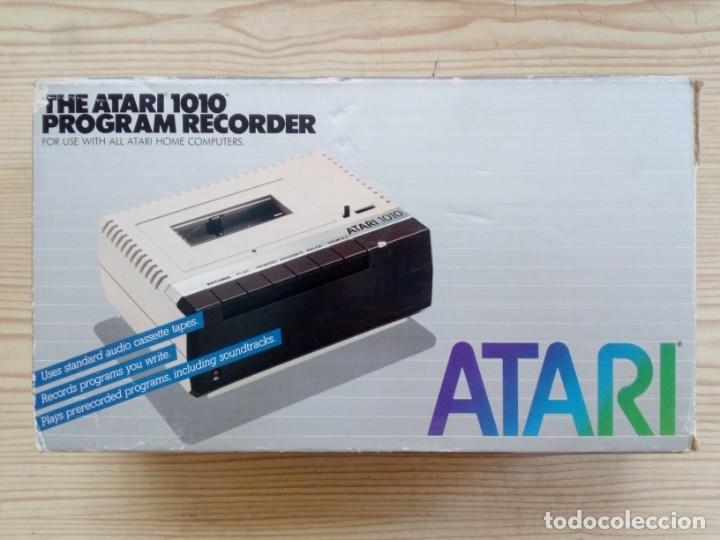 CASETE CASSETTE ATARI 1010 CON CAJA (Juguetes - Videojuegos y Consolas - Atari)