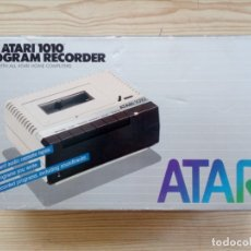 Videojuegos y Consolas: CASETE CASSETTE ATARI 1010 CON CAJA. Lote 182790125